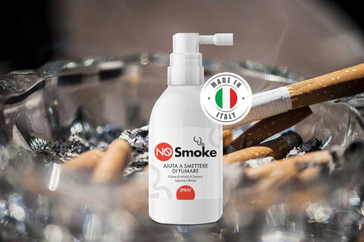 no smoke spray per smettere di fumare