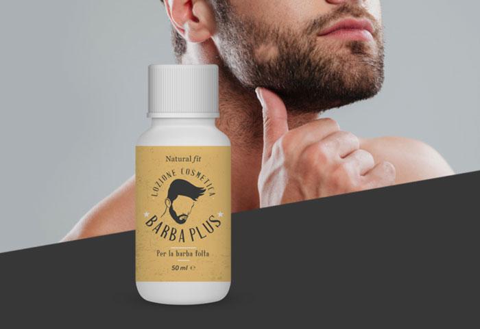 barba plus lozione