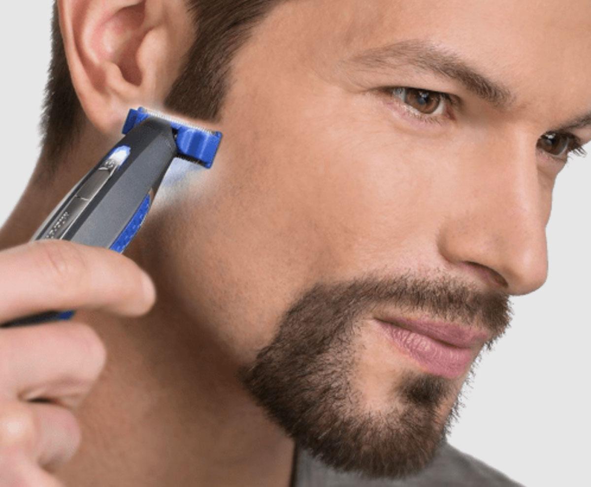 micro touch solo rasoio regolabarba elettrico